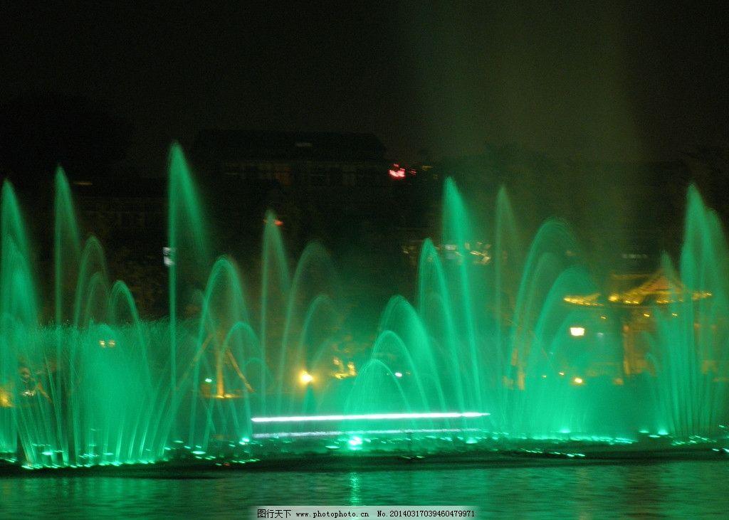 喷泉图片_建筑摄影_建筑园林_图行天下图库