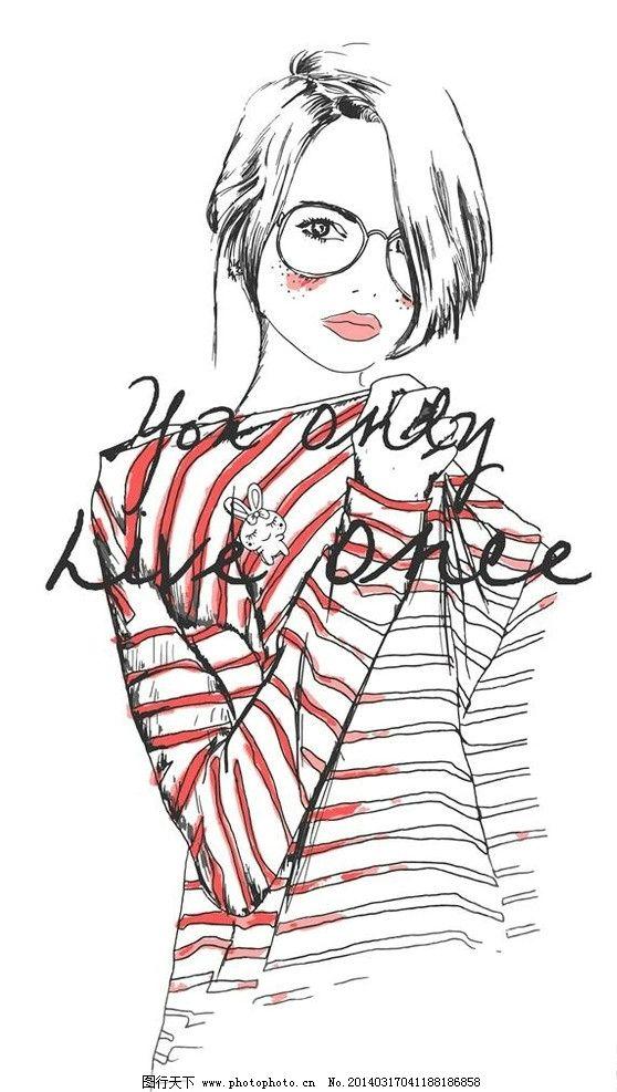 女人侧脸轮廓简笔画 侧脸轮廓简_发型设计