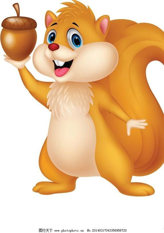 松鼠小动物设计 卡通松鼠 卡通动物 时尚背景 绚丽背景 背景素材图片