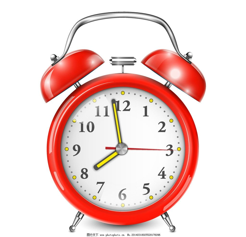 闹钟 时钟闹钟 刻度 倒时计 时间 钟表 矢量素材
