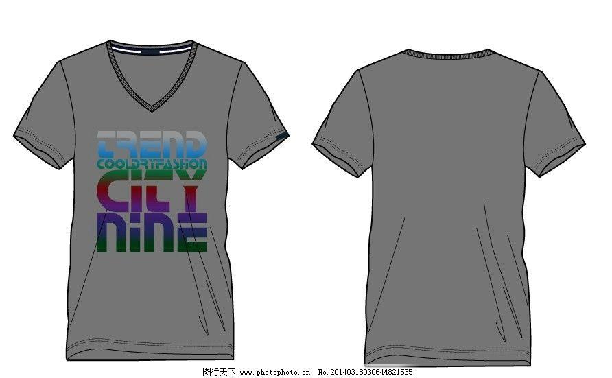 男t恤 男装设计 t恤设计 服装设计 v领t恤设计 t恤款式 男t恤设计