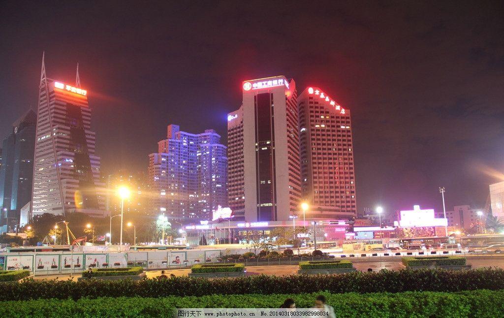深圳 夜景 京基大厦图片