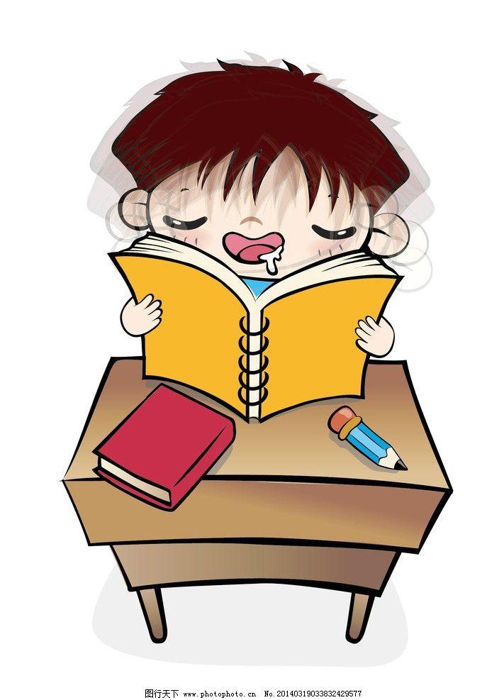 看书睡着的男孩图片图片