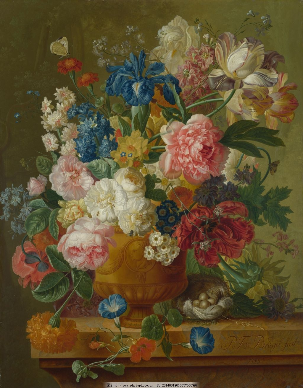 静物油画花卉