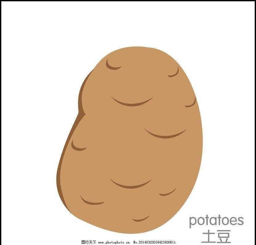 土豆简笔画步骤