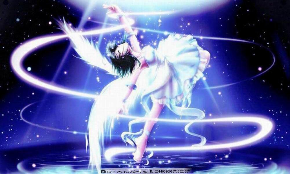 美丽 美少女 舞蹈 美少女 舞蹈 光晕 美丽 图片素材 卡通|动漫|可爱