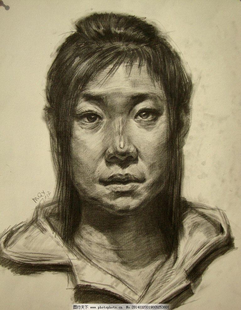 素描头像 素描      美术 高考 启艺画室 绘画书法 文化艺术 设计 72