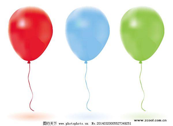 氢气球矢量素材