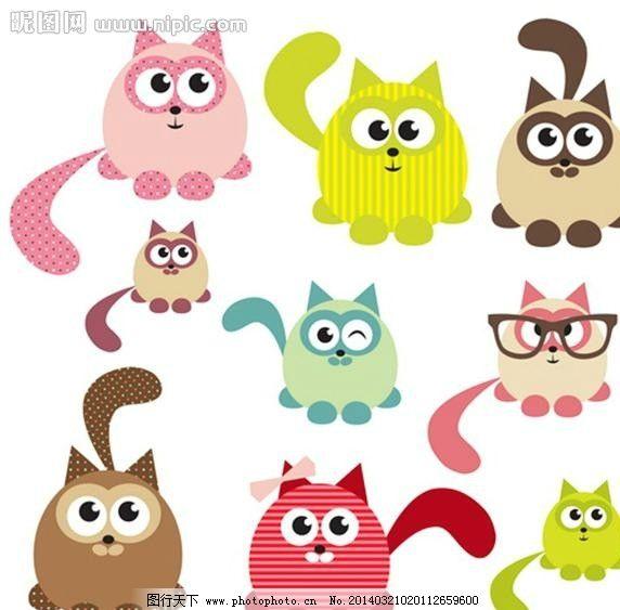 小猫猫咪宠物CAT 小猫 猫咪 宠物 宠物猫 cat kitty 可爱小猫 小猫设计 动物 宠物设计 时尚背景 绚丽背景 背景素材 背景图案 矢量背景 背景设计 抽象背景 抽象设计 卡通背景 矢量设计 卡通设计 艺术设计 广告设计 矢量 EPS