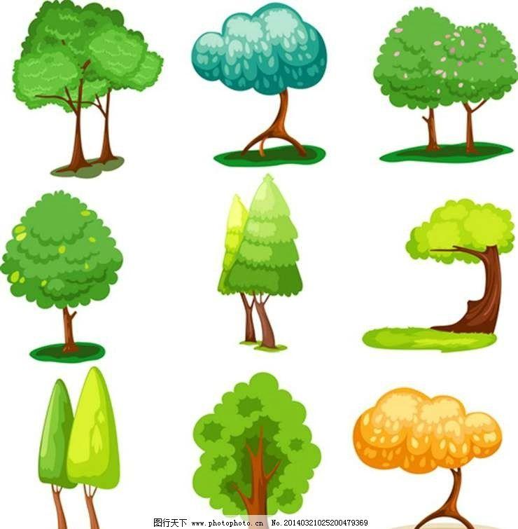 树木树苗大树图片