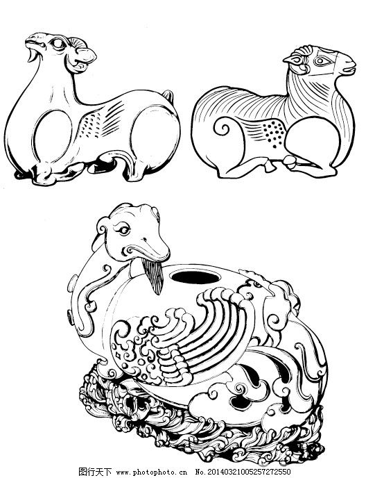 传统吉祥动物纹样1