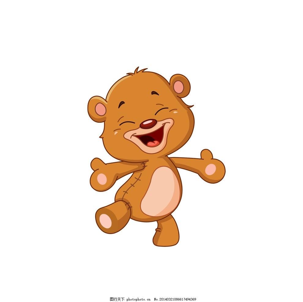 可爱卡通小熊