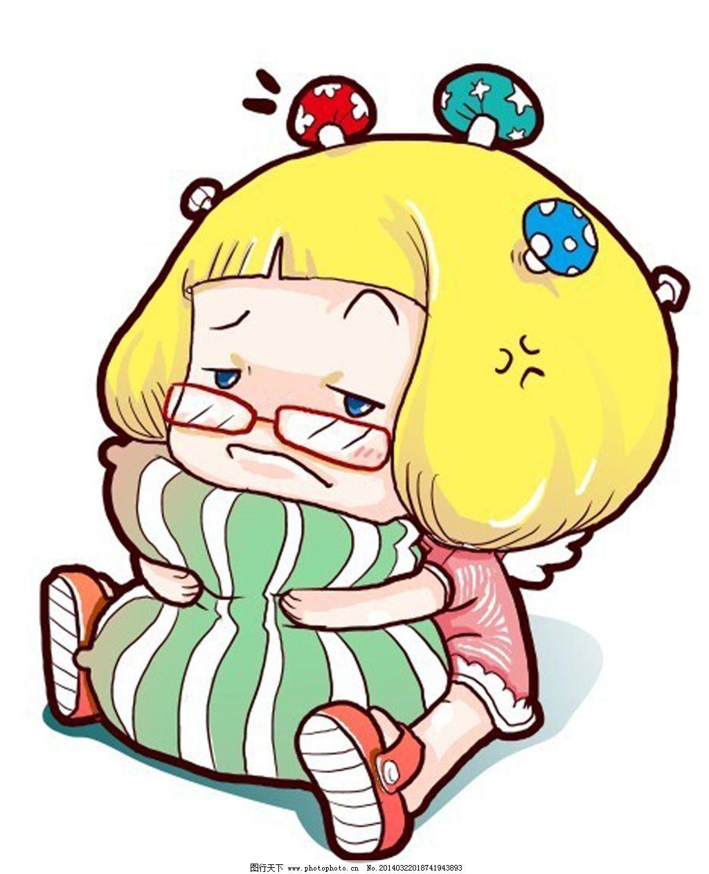 卡通胖女孩免费下载 卡通 卡通 胖女孩 可怜 图片素材 卡通|动漫|可爱