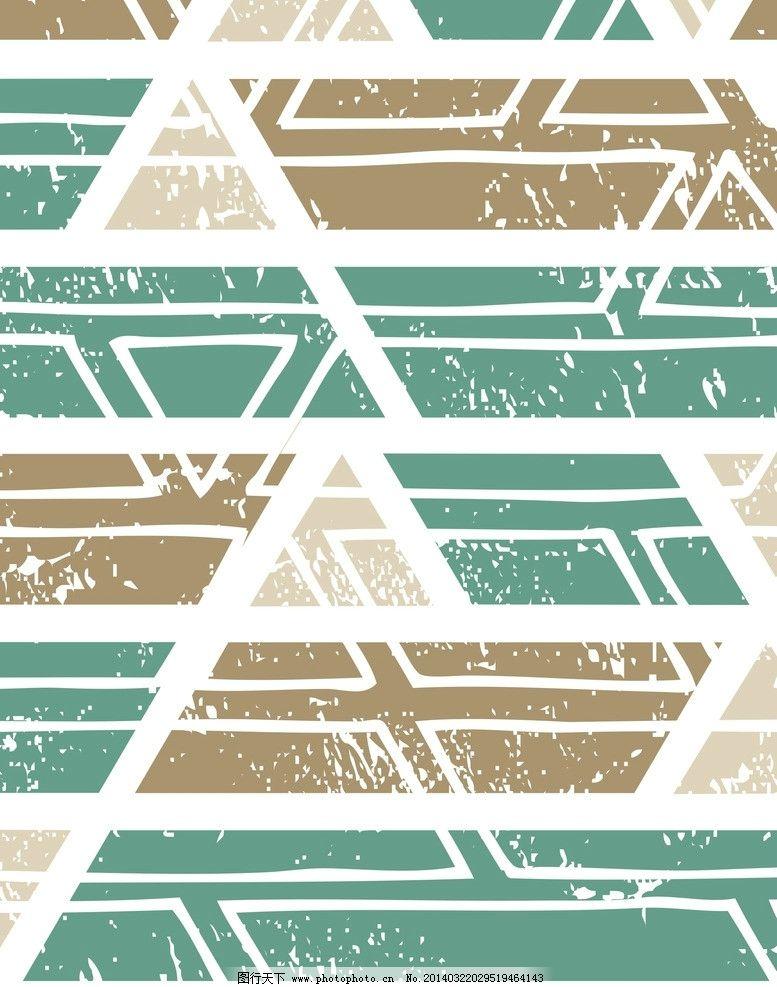 四方连续 图案 素材 2色调 矢量 广告设计 cdr