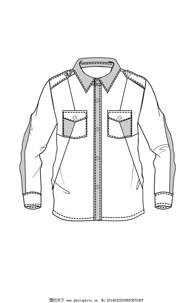 衬衫设计 童装设计 服装设计 纯色衬衫 衬衫 儿童衬衫 广告设计 矢量