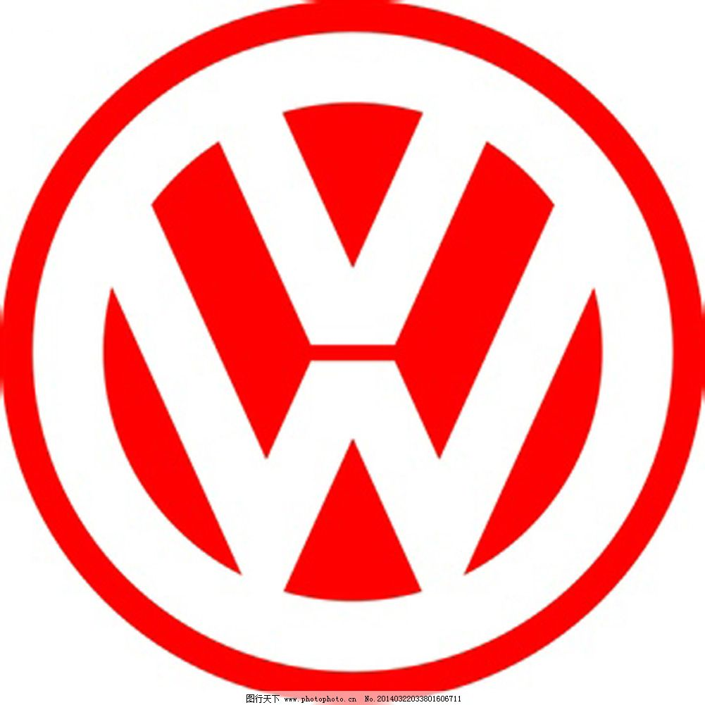 logo免费下载 logo 大众 红色 大众      红色 图片素材 其他