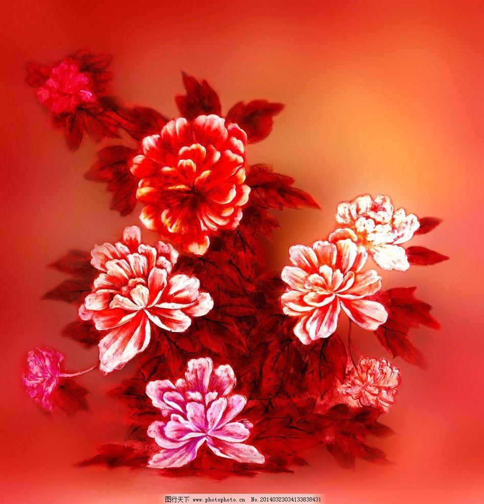 牡丹花图片_自然风景_旅游摄影