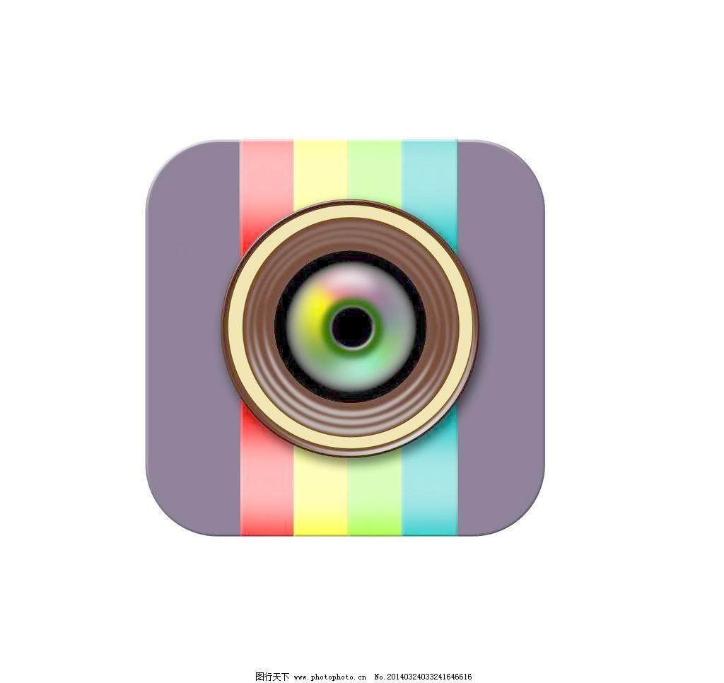 相机下载_按钮 手机相机图标 网页模板 小图标 源文件 相机标志素材下载