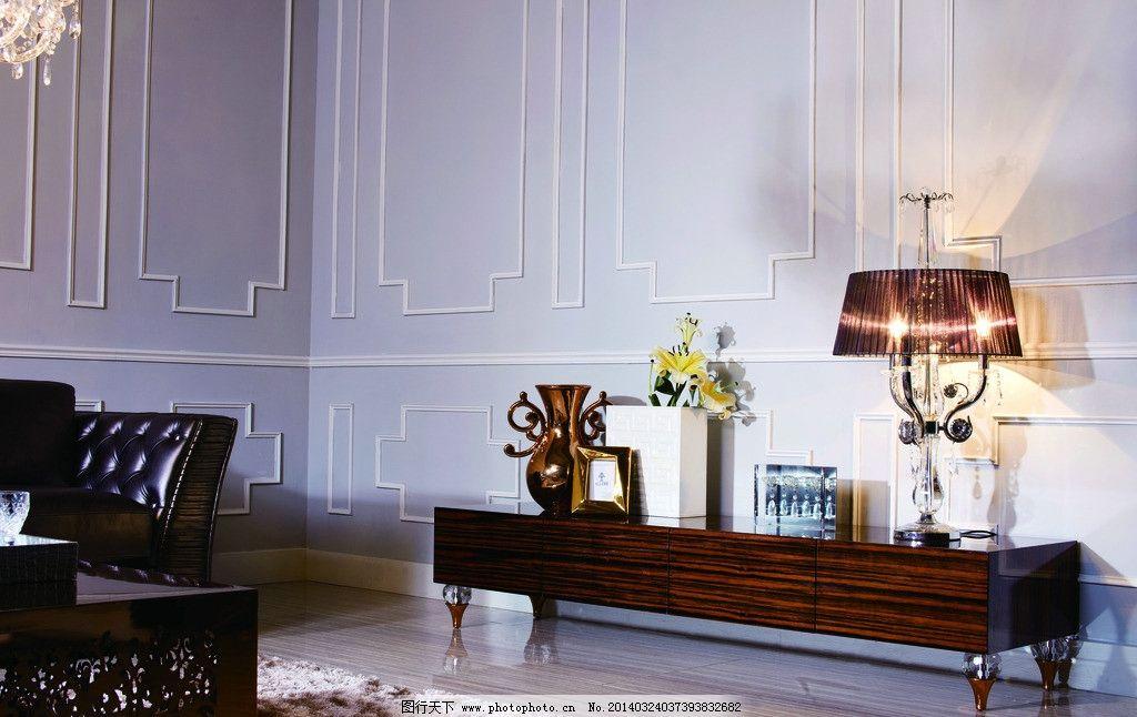 后现代家具 后现代地柜 摄影设计 台灯 地毯 休闲椅 家居生活