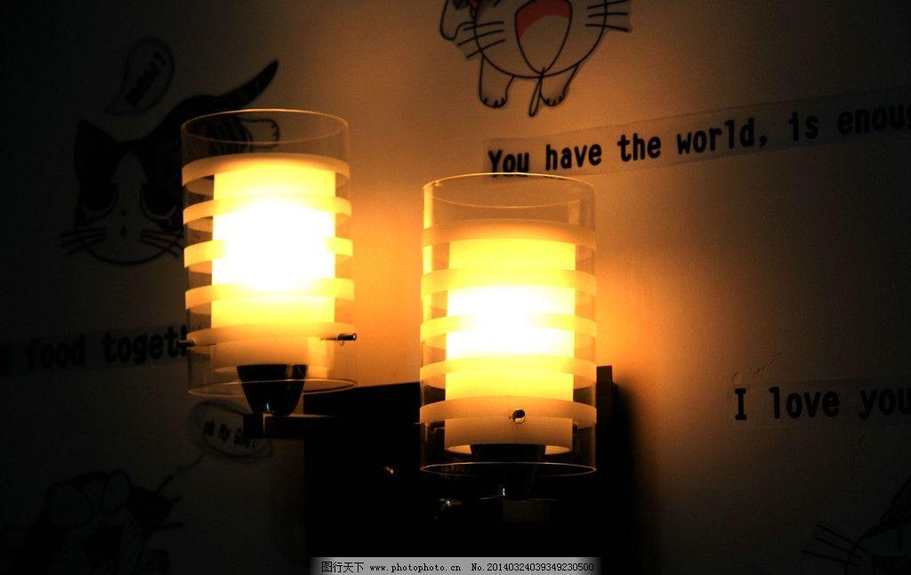 挂灯 室内 灯光 壁纸 动物图案 英文词母 室内摄影 建筑园林 摄影 72