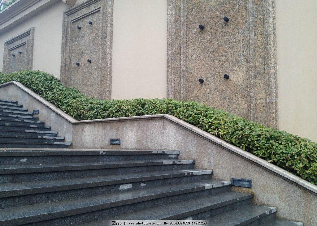 台阶 楼梯 小区 雨后 南宁 小区台阶 建筑园林 摄影