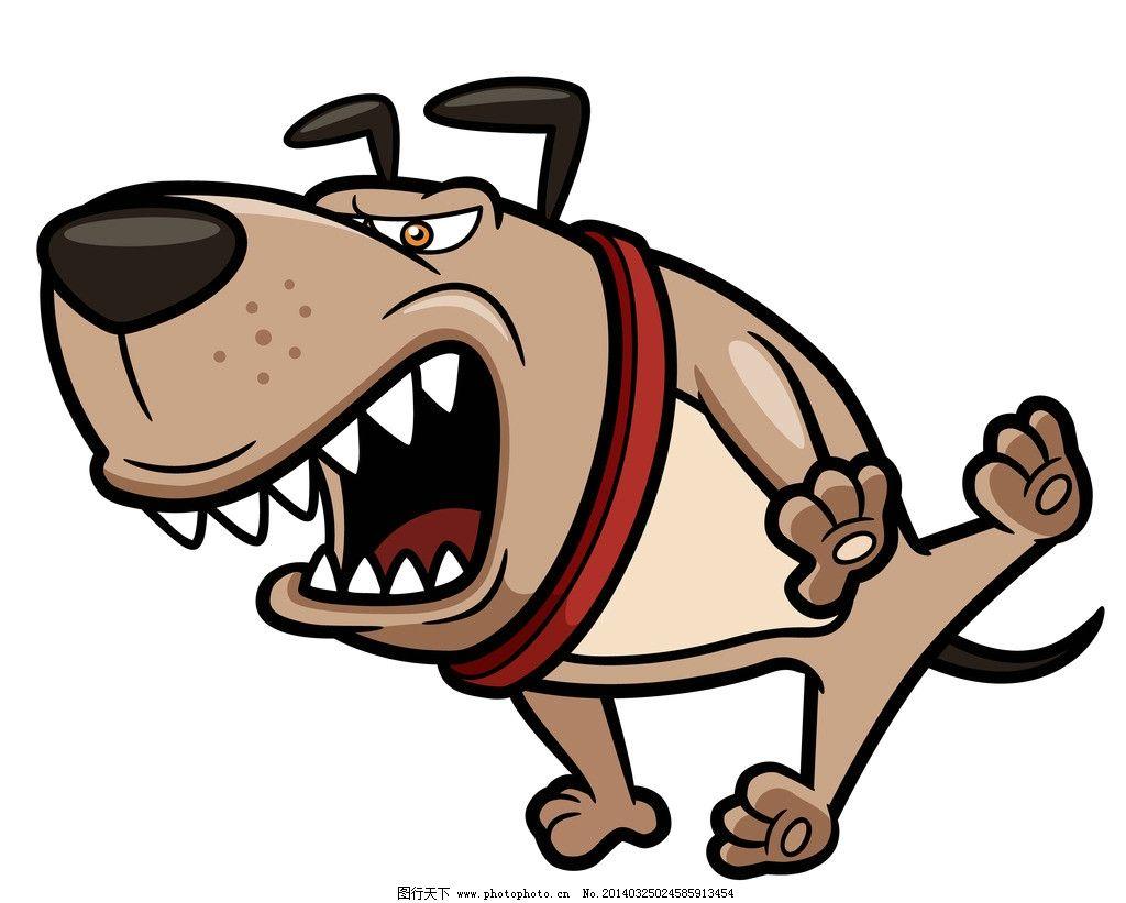矢量狗 宠物狗 小狗 狗 恶狗 疯狗 火焰 dog 愤怒的狗 卡通 宠物 犬类