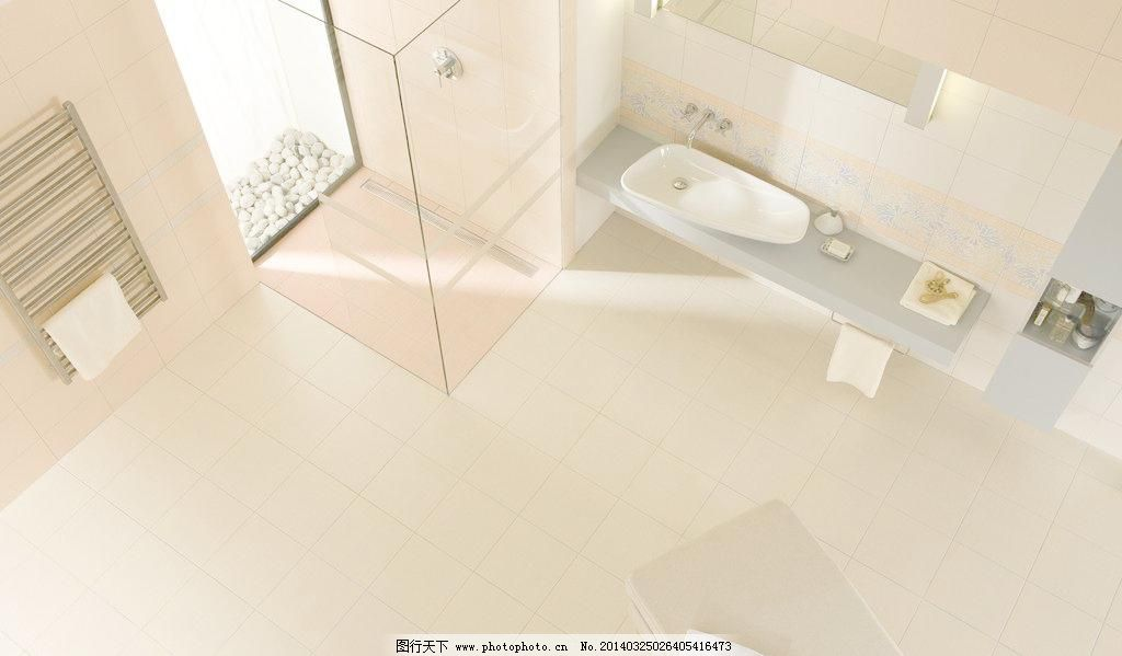 洗手间效果图 玻璃门 瓷砖 灯 房间 花洒 建筑园林 毛巾 沙发