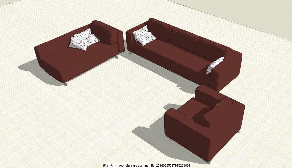 沙发群 3d舞台效果图 室内场景设计 展会效果图设计 3d室内设计 室内
