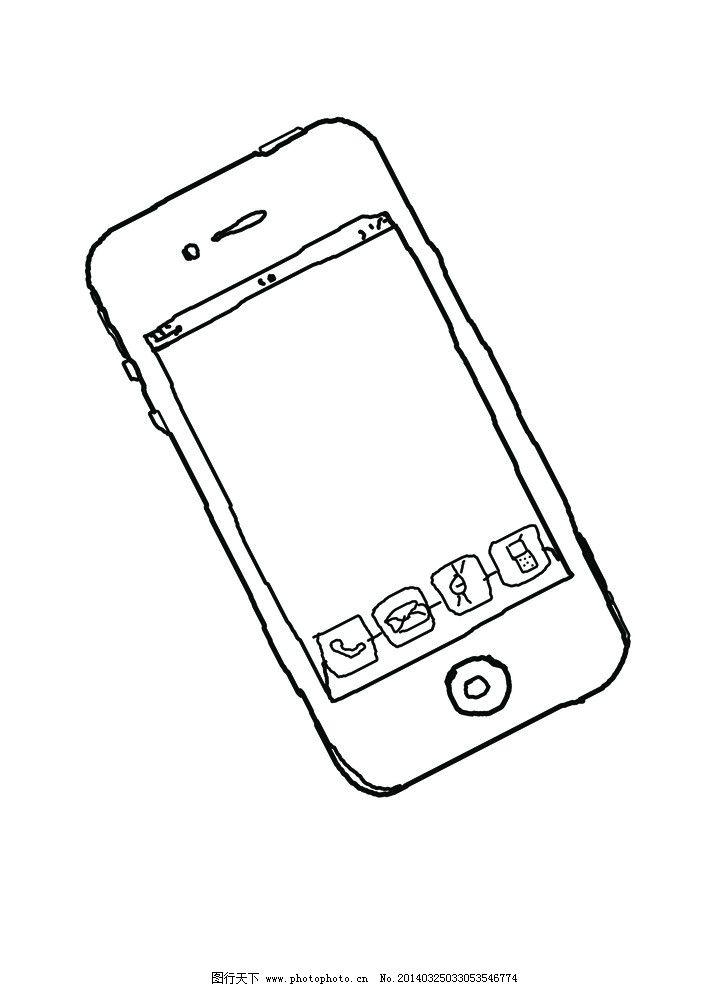 手绘 手机图片