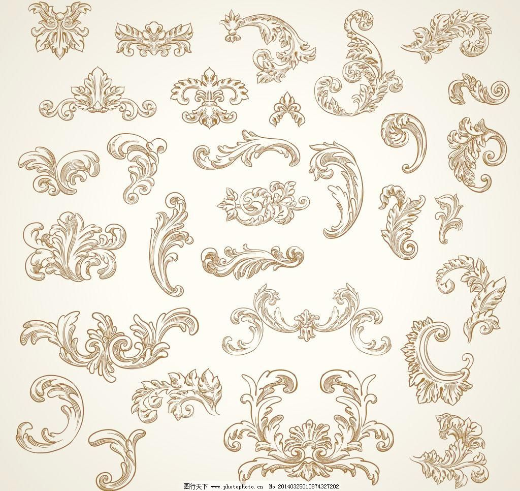 边框 边框相框 标签 菜单 传统花纹 古典 古典底纹 古典花边 古典花纹