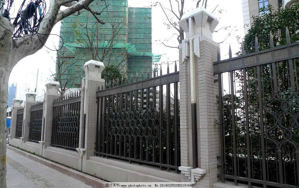 围墙      景观 铺装 欧式 园林建筑 建筑园林 摄影 180dpi jpg