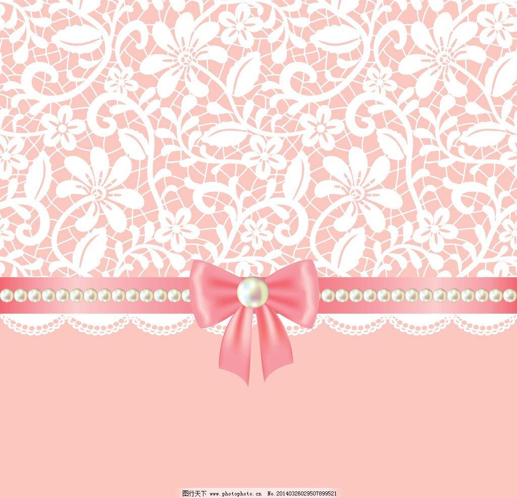 婚礼邀请卡 结婚卡 婚礼卡 手绘 手绘花卉 美丽花卉 蝴蝶结 简约 欧式