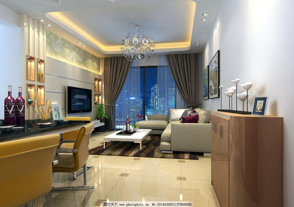 背景窗帘装修设计创意设计图 家具 家装 家装效果图 客厅 沙发