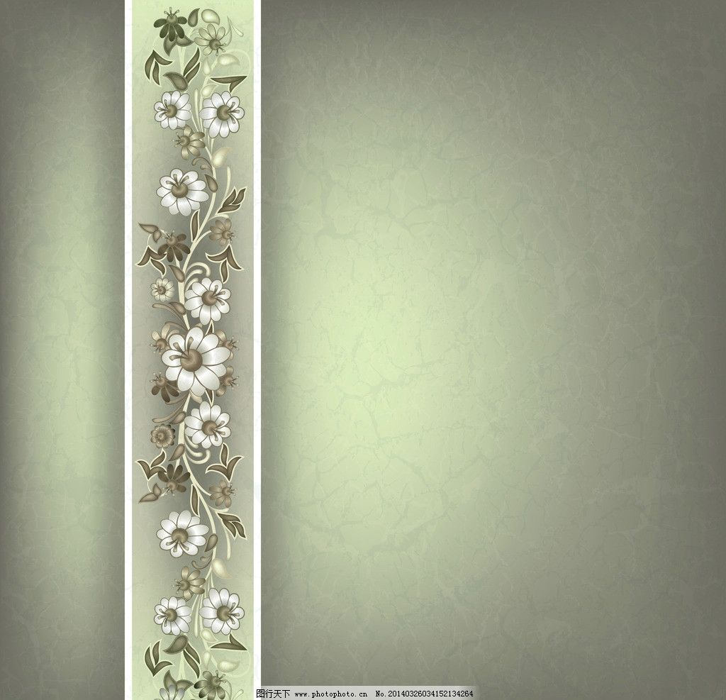 手绘花卉 手绘花纹 欧式花纹 手绘 植物花纹 民族装饰花纹 线条 欧式
