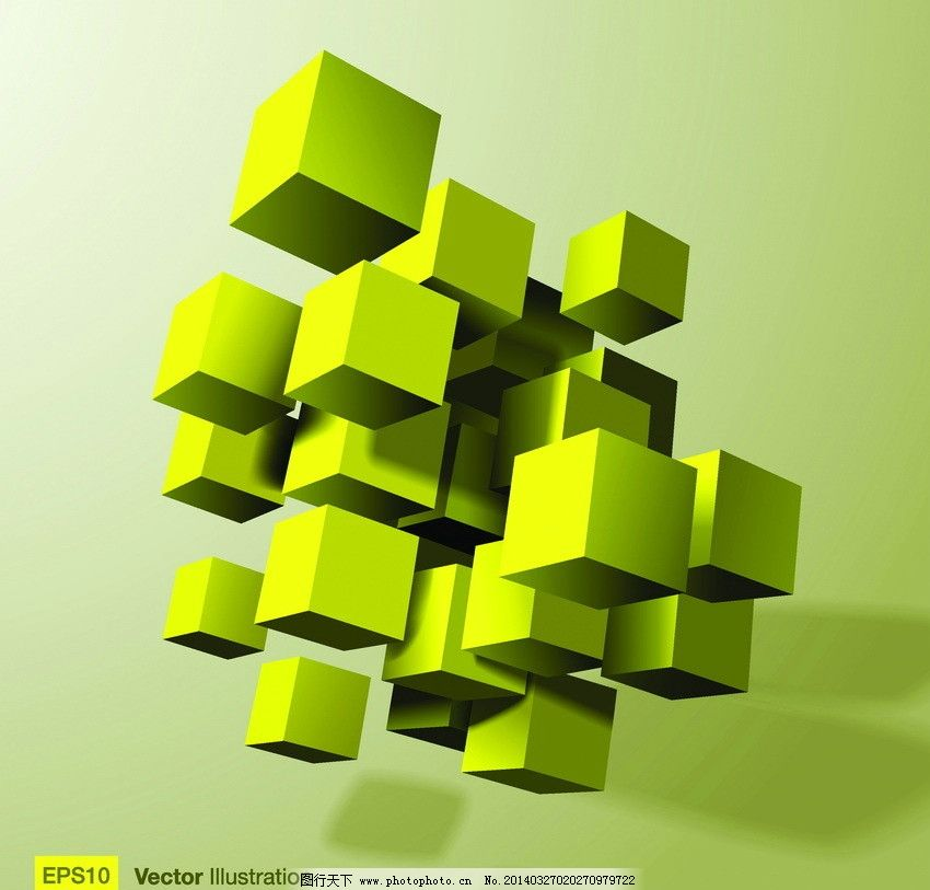 3d正方体图片