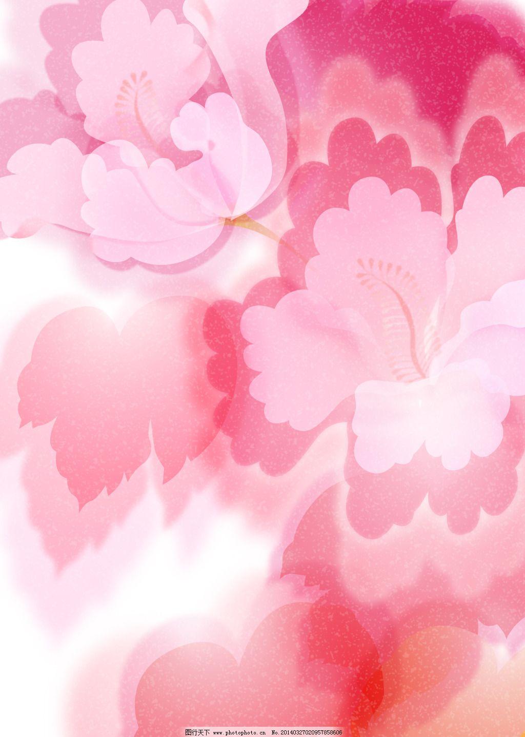玫红色花瓣叠加背景图免费下载 版面设计背景 版式 花瓣 玫红 模板