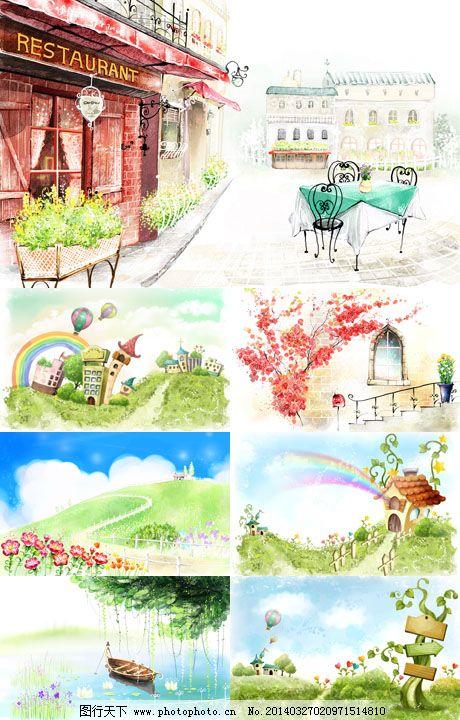 创意 电脑 风景 花草 环境 幻想 可爱 梦幻 桌面 壁纸 墙纸 糖果 可爱
