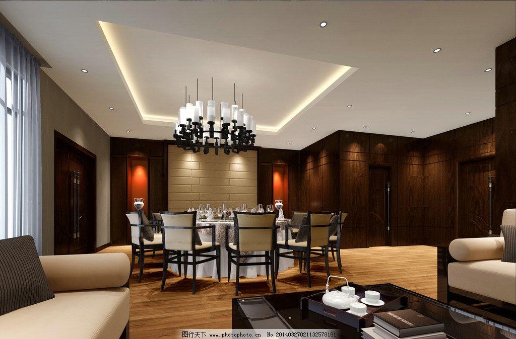 餐厅包间 包间 酒店包间        3d设计 室内设计 vip 餐厅设计 3d