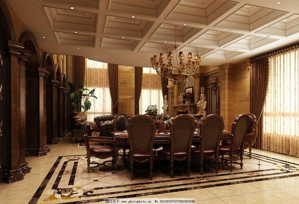 鄂尔多斯欧式古典餐厅 餐厅 餐桌 小户型 装修 装饰 装潢 房间 豪华 客厅 厨房 家具 沙发 室内 室内摄影 建筑园林 摄影 室内设计 环境设计 设计 72DPI JPG