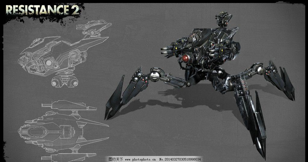 动漫人物 动漫动画 cg cg人物 cg角色 cg角色设定 人物原画设计 机械