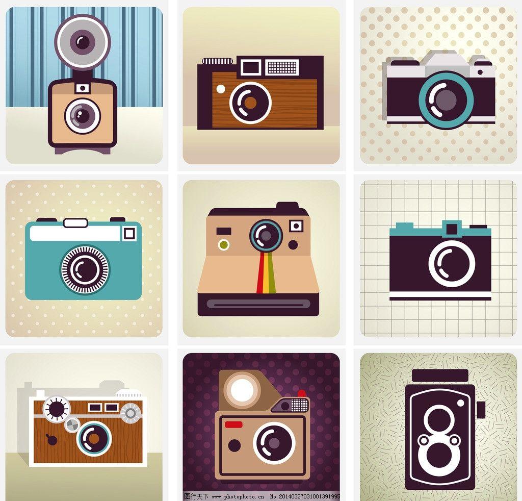 相机黑白胶卷边框素材