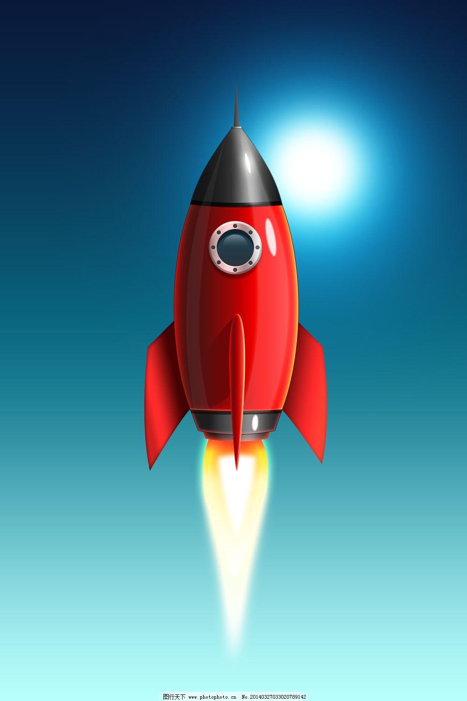 上传照片图标_火箭图片_公益海报_海报设计_图行天下图库