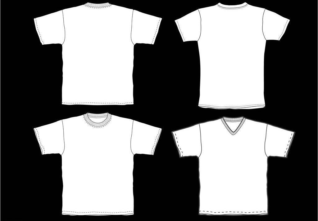 t恤衫 服装设计 广告设计 矢量素材 圆领 情侣衫