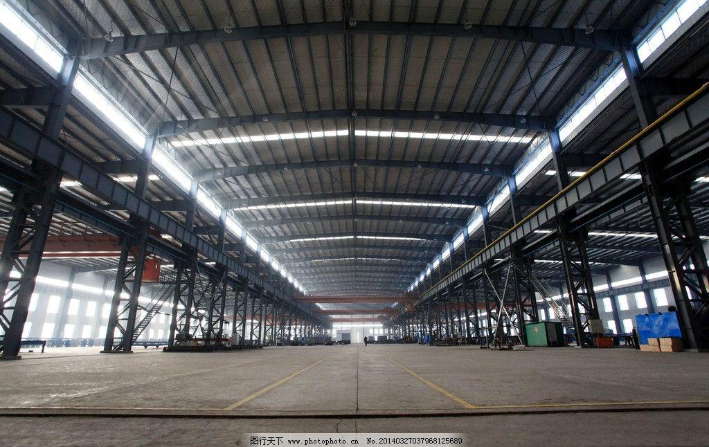 厂房 工业 钢结构 车间 钢架 工业生产 现代科技 摄影 72dpi jpg