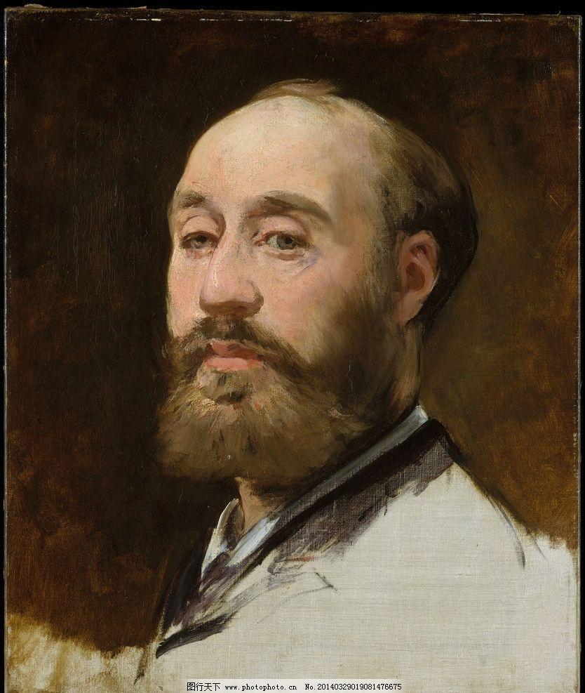 马奈 自画像 油画 法国 人物油画 油画作品 大师作品 艺术家 西方油画