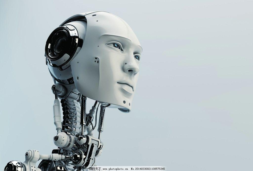 科幻机器人霸气图片