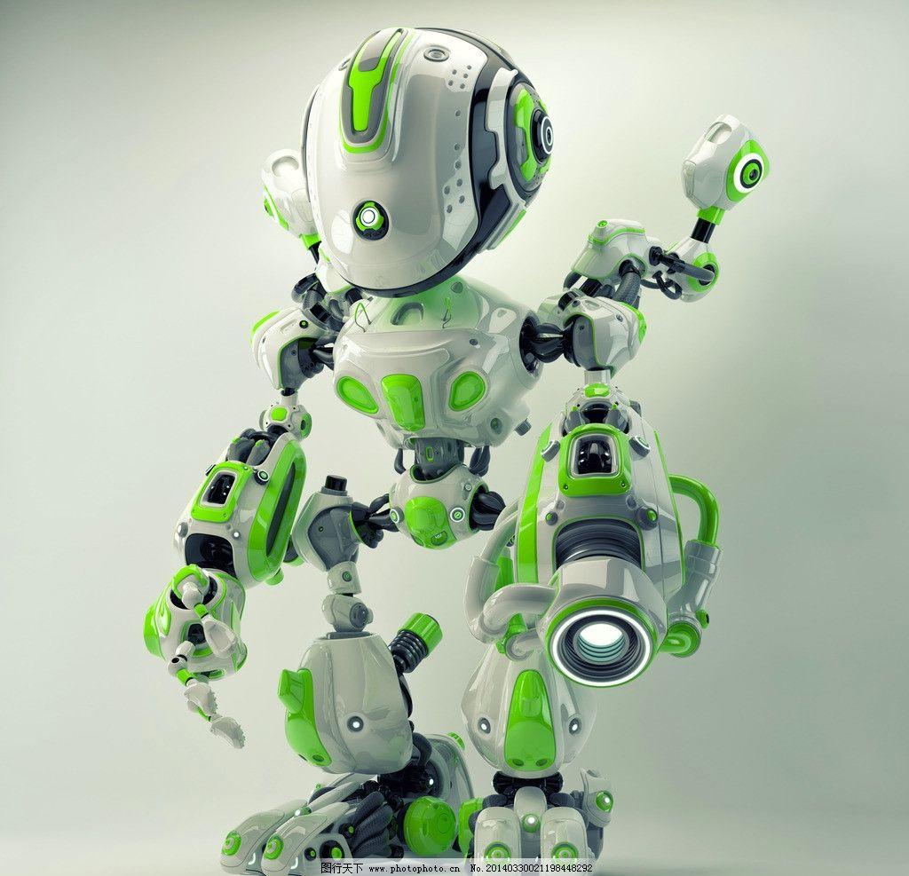 机器人科幻世界 机械人 未来世界 科幻设计 小机器人 外星人 智能机器