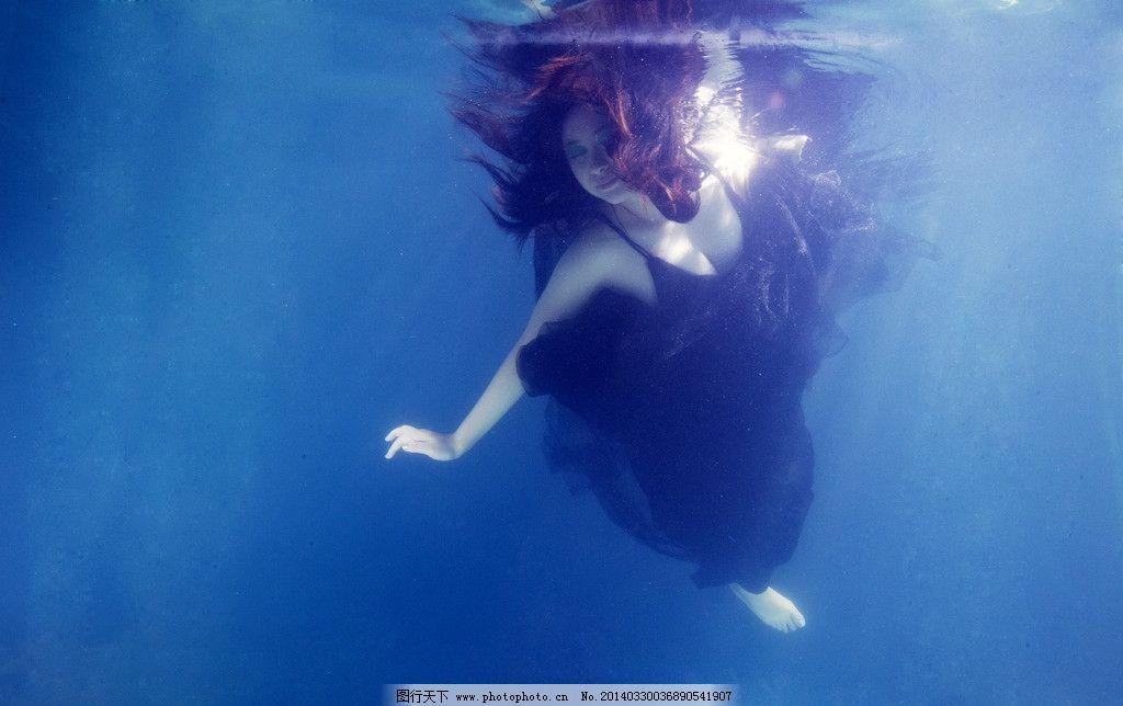 水下女人图片