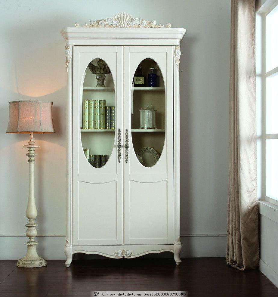 法式家具 法式书柜 白色家具 法式室内 欧式风格家居 家居生活 生活